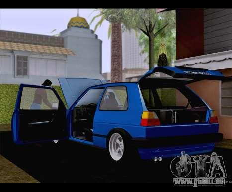 Volkswagen Golf Mk2 für GTA San Andreas linke Ansicht