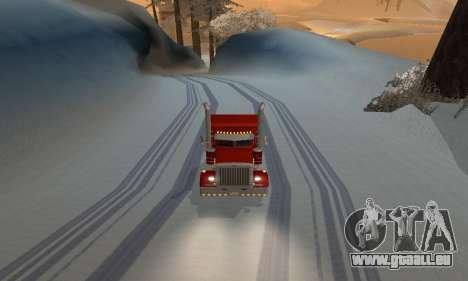 Hiver mod pour SA: MP pour GTA San Andreas troisième écran