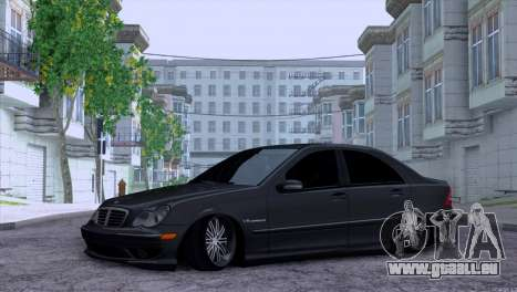 Mercedes-Benz C32 AMG für GTA San Andreas