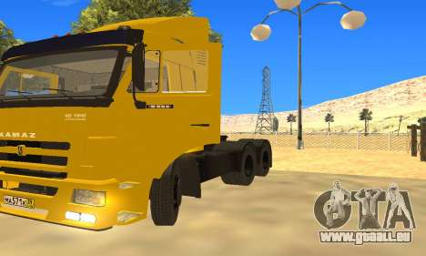 KAMAZ 65116 pour GTA San Andreas vue arrière