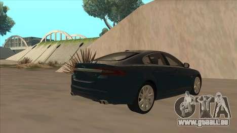 Jaguar XFR 2010 v1.0 für GTA San Andreas rechten Ansicht