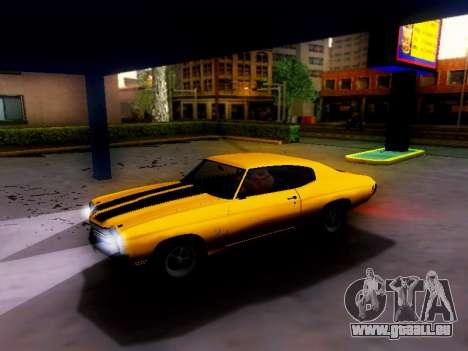 Chevrolet Chevelle SS 1970 pour GTA San Andreas vue de droite