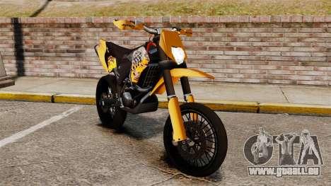 KTM EXC 450 SuperMotard pour GTA 4