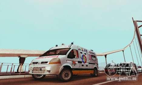 Renault Master PCSO AMBULANCE für GTA San Andreas