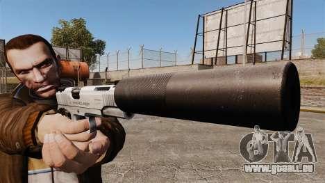Pistolet Colt 1911 pour GTA 4 troisième écran
