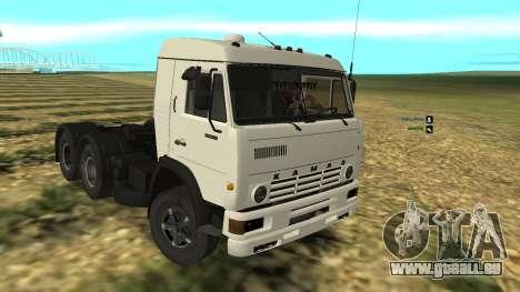 KAMAZ-54112 pour GTA San Andreas
