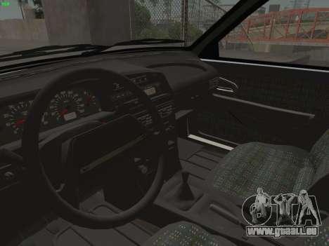 ВАЗ 2114 für GTA San Andreas Innen