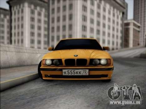 BMW M5 E34 für GTA San Andreas Innenansicht