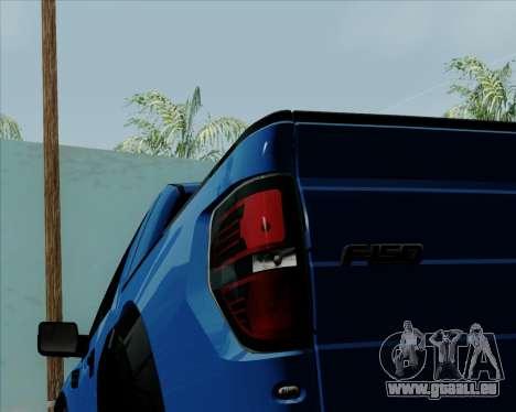 Ford F-150 SVT Raptor 2011 pour GTA San Andreas vue de côté