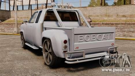 Bobcat sur disques de 24 pouces pour GTA 4 Vue arrière de la gauche