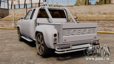 Bobcat auf 24-Zoll-Festplatten für GTA 4 hinten links Ansicht