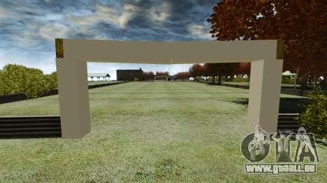 Fußballplatz für GTA 4 Sekunden Bildschirm