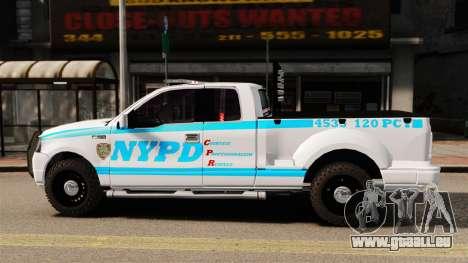 Ford F-150 v3.3 NYPD [ELS & EPM] v3 für GTA 4 linke Ansicht