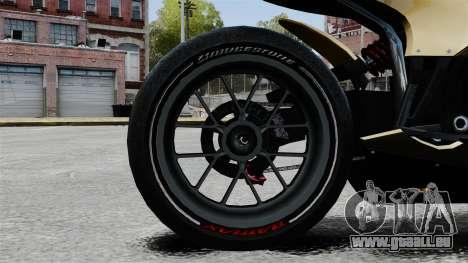 Ducati 848 für GTA 4 Rückansicht