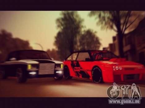 VAZ 21093 Devil pour GTA San Andreas vue de droite