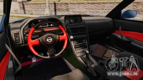Nissan Skyline R34 GT-R Z-tune für GTA 4 Rückansicht