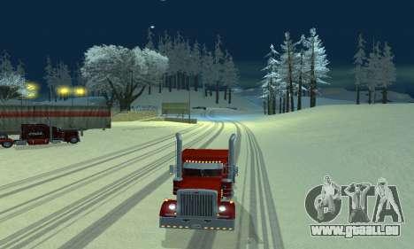 Hiver mod pour SA: MP pour GTA San Andreas deuxième écran