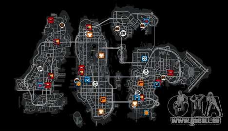 Nouvelles icônes de couleur pour GTA 4
