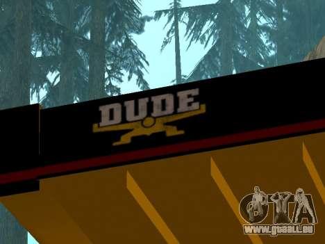 Nouveau Dumper pour GTA San Andreas vue de droite