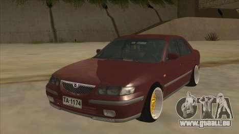 Mazda 626 Hellaflush pour GTA San Andreas