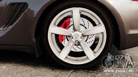 Porsche Cayman S pour GTA 4 Vue arrière