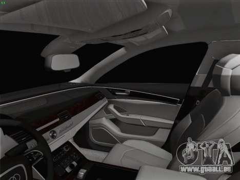 Audi A8 Limousine für GTA San Andreas Innen