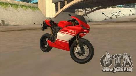 Ducatti Desmosedici RR 2012 für GTA San Andreas