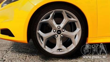Ford Focus ST 2013 für GTA 4 Rückansicht