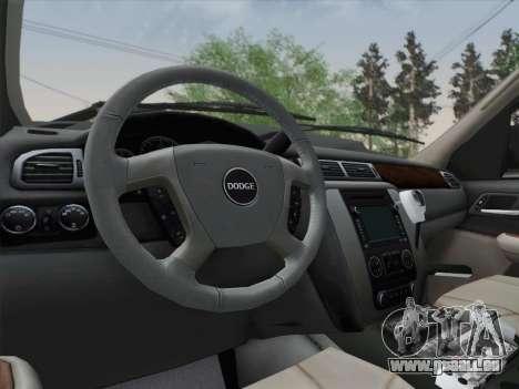 Dodge Ram Ambulance BCFD Paramedic 100 für GTA San Andreas Unteransicht