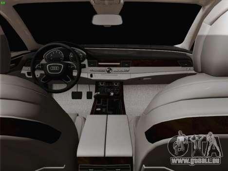 Audi A8 Limousine pour GTA San Andreas moteur