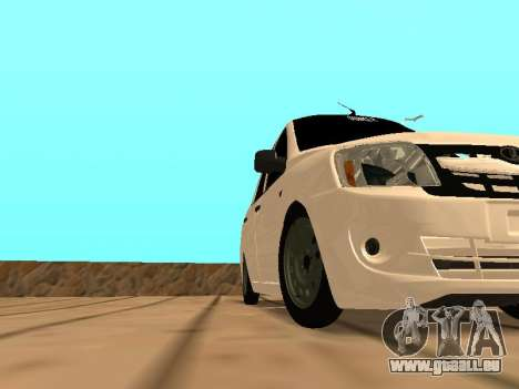Lada Granta für GTA San Andreas linke Ansicht