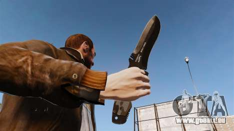 Couteau tactique v2 pour GTA 4 troisième écran