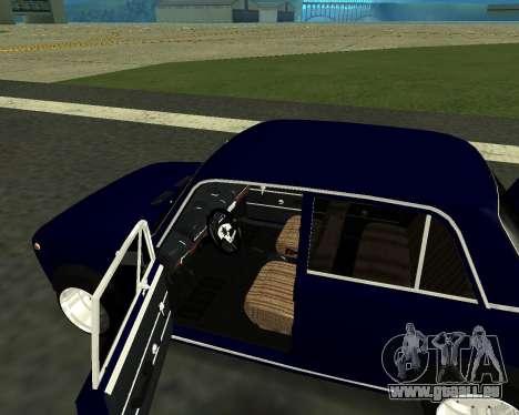 VAZ 2101 bébé v3 pour GTA San Andreas vue de côté