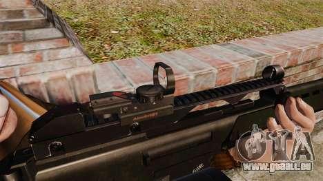 Fusil d'assaut H & K MG36 v4 pour GTA 4 quatrième écran