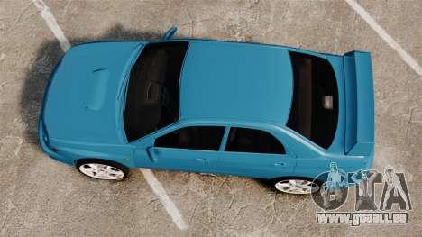 Subaru Impreza für GTA 4 rechte Ansicht