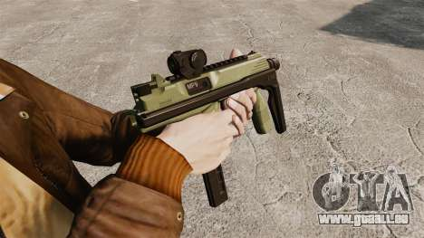 MP9 Maschinenpistole taktische v2 für GTA 4 Sekunden Bildschirm