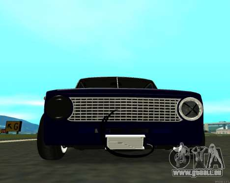 VAZ 2101 Baby v3 für GTA San Andreas zurück linke Ansicht