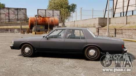 Chevrolet Caprice 1989 für GTA 4 linke Ansicht