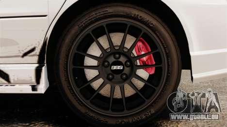 Mitsubishi Lancer Evolution VIII MR CobrazHD pour GTA 4 Vue arrière