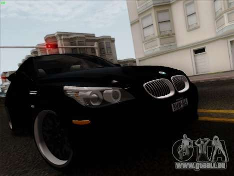 BMW M5 Hamann pour GTA San Andreas vue de droite