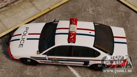 Luxemburg-Polizei für GTA 4 rechte Ansicht