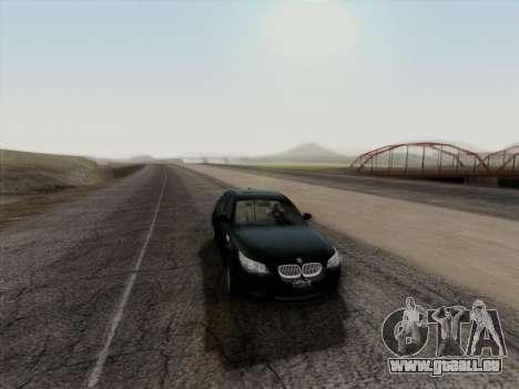 BMW M5 Hamann pour GTA San Andreas vue de côté