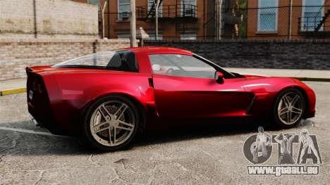 Chevrolet Corvette C6 Z06 V1.1 für GTA 4 linke Ansicht
