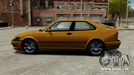 Saab 9-3 Aero Coupe 2002 pour GTA 4 est une gauche