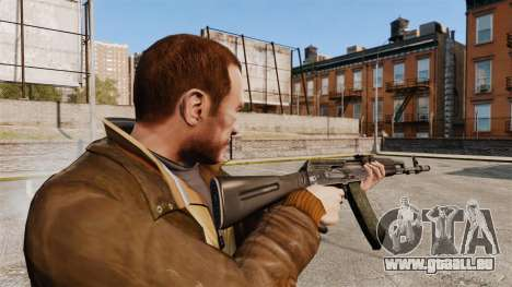 AK-74M pour GTA 4 secondes d'écran