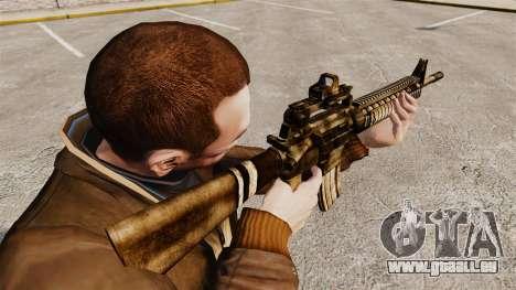 Die M16A4 rifle für GTA 4 Sekunden Bildschirm