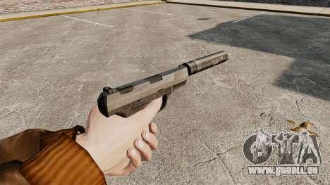 Walther P99 pistolet semi-automatique v2 pour GTA 4 secondes d'écran