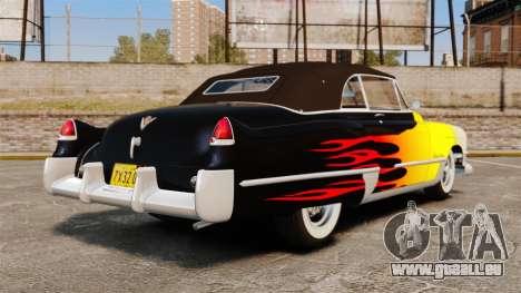 Cadillac Series 62 convertible 1949 [EPM] v2 pour GTA 4 Vue arrière de la gauche