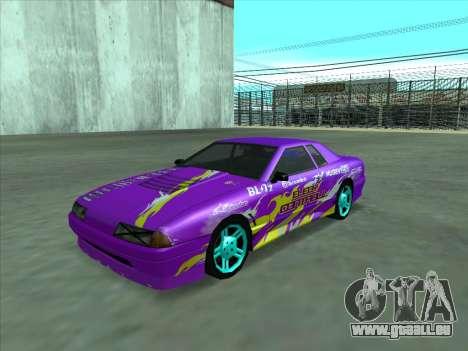 Drift elegy by KaMuKaD3e für GTA San Andreas Innen