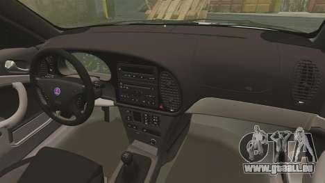 Saab 9-3 Aero Coupe 2002 pour GTA 4 est un côté